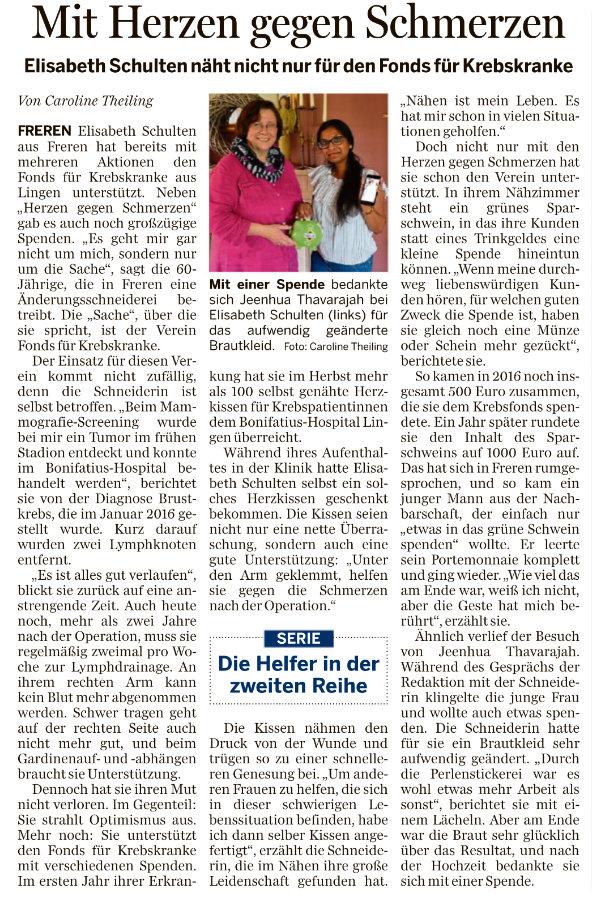 Bonifatius Hospital Lingen - Pressespiegel - Aktuelles und ...